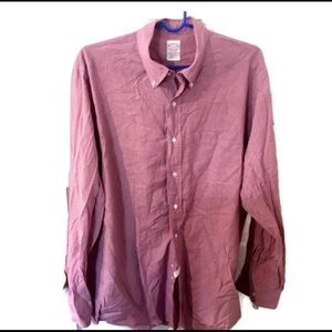 Brooks Brother 16-4 Men's button down red shirt